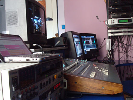 Off line audio studio 1