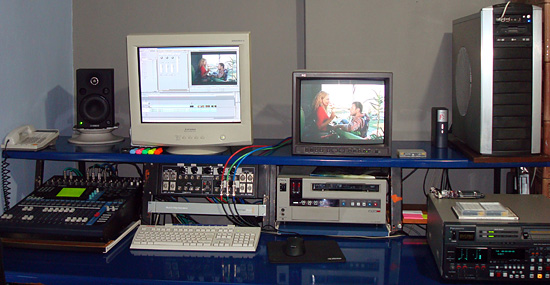 Off line video studio 1
